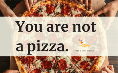 You Are Not a Pizza